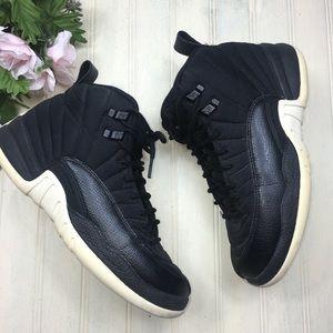 """Nike Air Jordan 12 Retro BG """"Nylon"""" Black"""